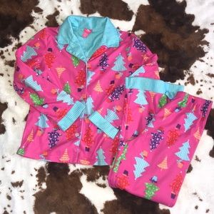 Girls Christmas pjs | size 7/8 🎄final price🎄